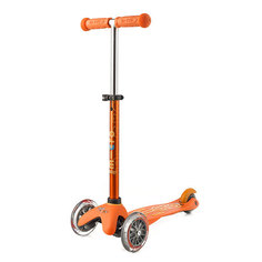Самокат трехколесный Micro Mini Deluxe оранжевый