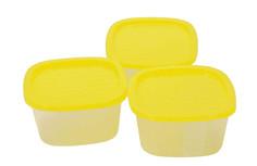 Набор контейнеров Good&Good Compact , квадратные, 0,9 л (3 штуки)