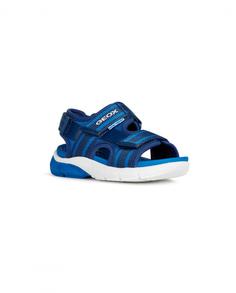 Сандалии для мальчиков Geox, цв. синий, р-р 32