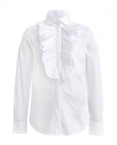 Блузка для девочек Gulliver, цв. белый, р-р 170