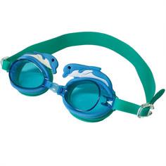B31578-0 Очки для плавания детские (Голубой/зеленый) Hawk
