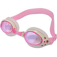 B31523-2 Очки для плавания детские (Розовый/белый) Hawk