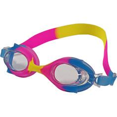 B31524-5 Очки для плавания детские (сине/розово/желтый Mix-2) Hawk