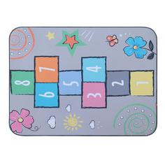 Игровой плюшевый ковер 3в1 Wolli Matlig Классики на светлом, 130х180 см