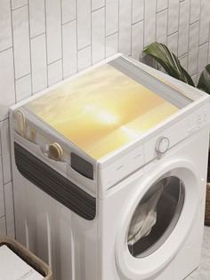 "Органайзер ""Взгляни на закат"" на стиральную машину, 45x120 см Ambesonne"
