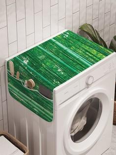 """Органайзер """"Непроходимый бамбук"""" на стиральную машину, 45x120 см Ambesonne"""