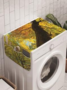"""Органайзер """"К верхушке древа"""" на стиральную машину, 45x120 см Ambesonne"""