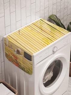"""Органайзер """"Рисунок на бамбуке"""" на стиральную машину, 45x120 см Ambesonne"""