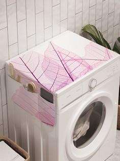 """Органайзер """"Лиственный узор"""" на стиральную машину, 45x120 см Ambesonne"""