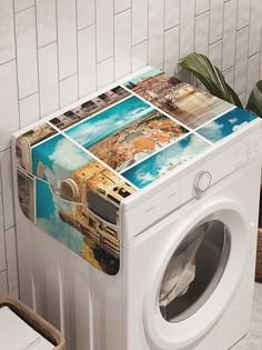 """Органайзер """"Античный коллаж"""" на стиральную машину, 45x120 см Ambesonne"""
