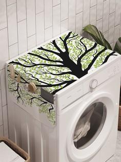 """Органайзер """"Расцветающее дерево"""" на стиральную машину, 45x120 см Ambesonne"""