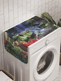 """Органайзер """"Фонтан весны"""" на стиральную машину, 45x120 см Ambesonne"""