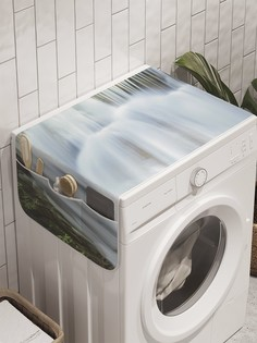 """Органайзер """"Сказочный водопад"""" на стиральную машину, 45x120 см Ambesonne"""