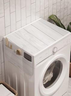 """Органайзер """"Цветы по сторонам"""" на стиральную машину, 45x120 см Ambesonne"""