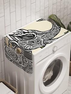 """Органайзер """"Слоновый дух"""" на стиральную машину, 45x120 см Ambesonne"""