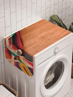 "Органайзер ""Маракасы ждут"" на стиральную машину, 45x120 см Ambesonne"