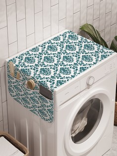 """Органайзер """"Типичный орнамент"""" на стиральную машину, 45x120 см Ambesonne"""