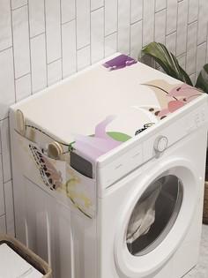 """Органайзер """"Весенние эмоции"""" на стиральную машину, 45x120 см Ambesonne"""