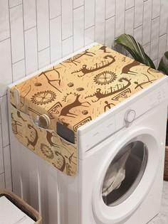"""Органайзер """"Охотничьи символы"""" на стиральную машину, 45x120 см Ambesonne"""