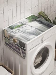 """Органайзер """"Водопадное окно"""" на стиральную машину, 45x120 см Ambesonne"""