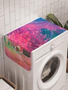 """Органайзер """"Вблизи цветов"""" на стиральную машину, 45x120 см Ambesonne"""