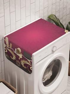 """Органайзер """"Гранатовый узор"""" на стиральную машину, 45x120 см Ambesonne"""