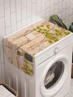 """Органайзер """"Цветы поглощают стену"""" на стиральную машину, 45x120 см Ambesonne"""