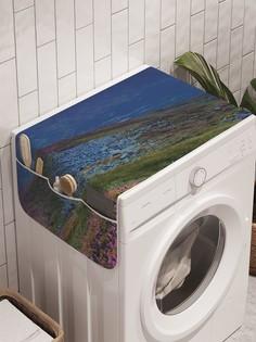 """Органайзер """"Малиновый закат"""" на стиральную машину, 45x120 см Ambesonne"""