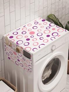 """Органайзер """"Облачные пузыри"""" на стиральную машину, 45x120 см Ambesonne"""