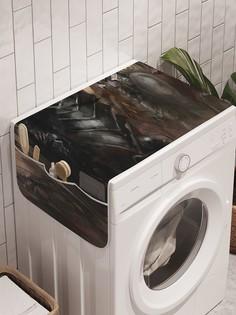 """Органайзер """"Воинственная армия"""" на стиральную машину, 45x120 см Ambesonne"""