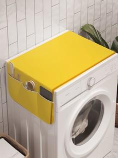 """Органайзер """"Яркая клеточная плитка"""" на стиральную машину, 45x120 см Ambesonne"""