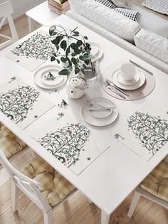JoyArty Комплект салфеток для сервировки стола «Елка с подарками» (32х46 см, 4 шт.)