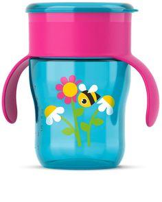 Чашка-поильник Philips Avent Пчёлка 9м+, 260 мл