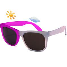 Детские солнцезащитные очки Real Kids Switch 4-7 лет фиолетовый, розовый