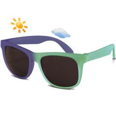 Детские солнцезащитные очки Real Kids Switch 7-12 лет зеленый, фиолетовый