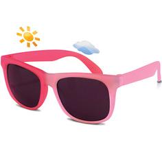 Детские солнцезащитные очки Real Kids Switch 7-12 лет розовые