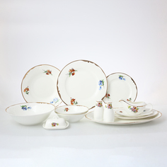 Столовый сервиз Мейсенский букет на 6 персон 30 предметов Royal Classics