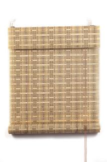 Рулонные шторы, ПраймДекор, Кантри, бамбук , 50Х160 Primedeco