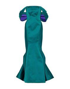 Длинное платье Zac Posen