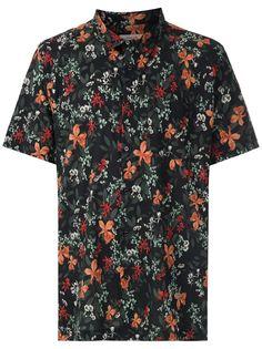 Osklen рубашка с короткими рукавами и принтом