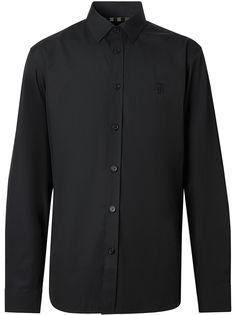 Burberry рубашка с монограммой