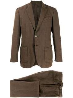 Delloglio костюм-двойка с однобортным пиджаком