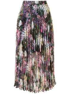 Romance Was Born плиссированная юбка Montmartre с цветочным принтом