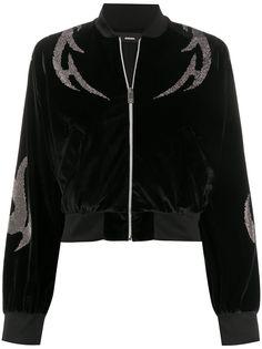 Diesel декорированная куртка