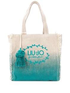 LIU JO пляжная сумка-тоут с логотипом