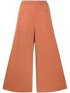 Stella McCartney укороченные трикотажные брюки