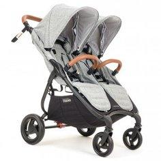 Коляска для двойни Valco baby Snap Duo Trend Grey Marle, серый