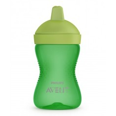 Чашка-непроливайка с мягким носиком Philips Avent, от 18 мес., 300 мл, зеленый