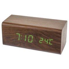 Термометр Perfeo BLOCK (PF-S718T) коричневый / зеленый