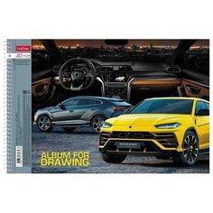 Альбом для рисования Hatber АвтоЛюкс 29.7 х 21 см (A4), 100 г/м², 40 л.